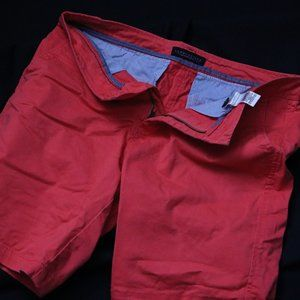 Aeropostale Mens Shorts in Faded Red